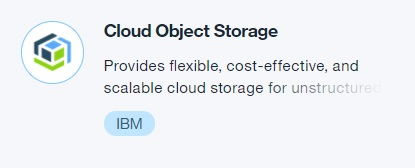 Cloud Object Storage