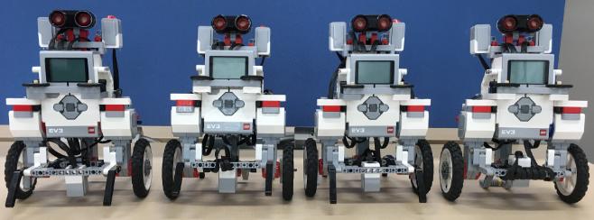 tadaima G2で使ったロボットたち